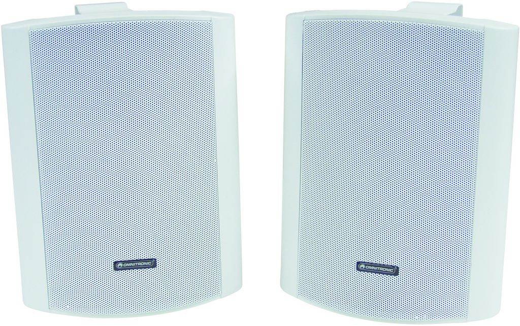 Omnitronic C-60 bílé, reproboxy 100W