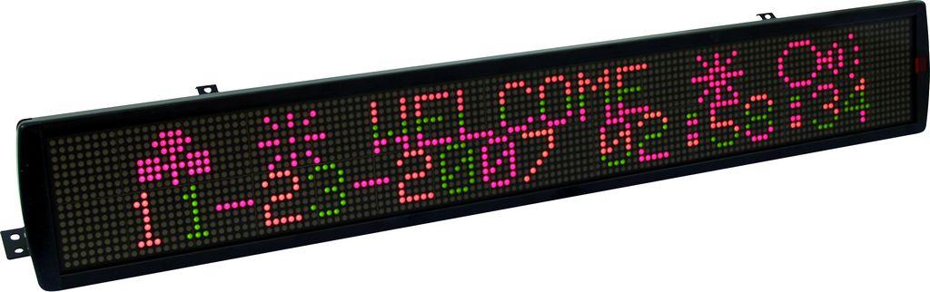 Fotografie Eurolite LED ESN, běžící text, 16 x 128 5mm LED RGY