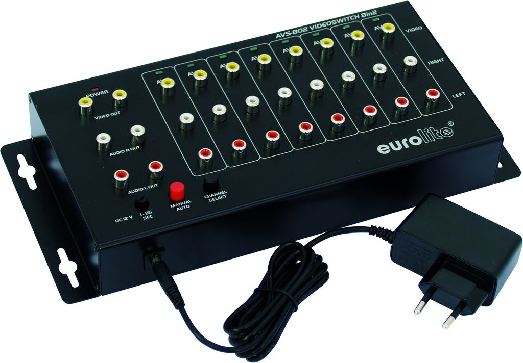 Eurolite AVS-802 video přepínač