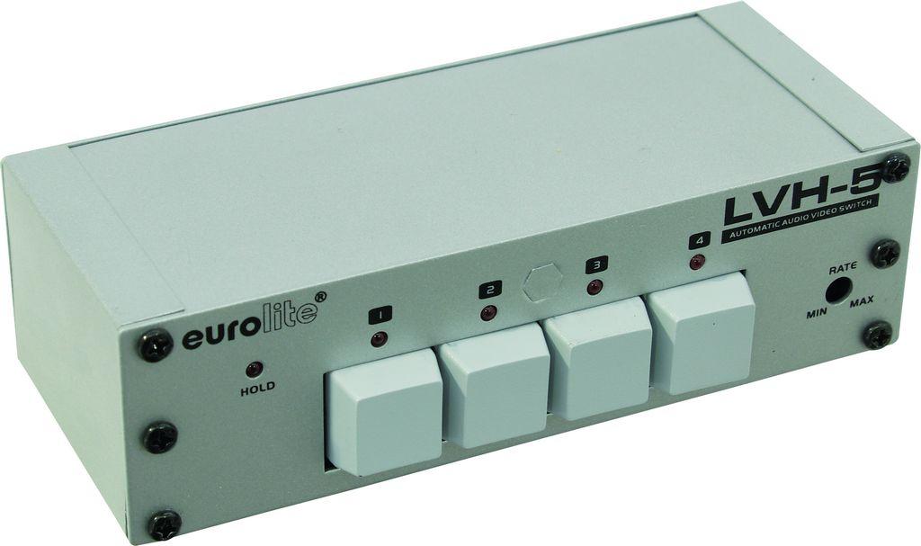 Eurolite LVH-5 automatický video přepínač