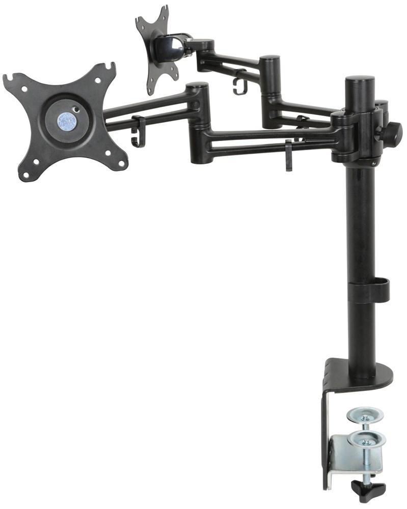 """AV:link DM212 dvojitý stolní držák LED/LCD monitoru 10-30"""""""