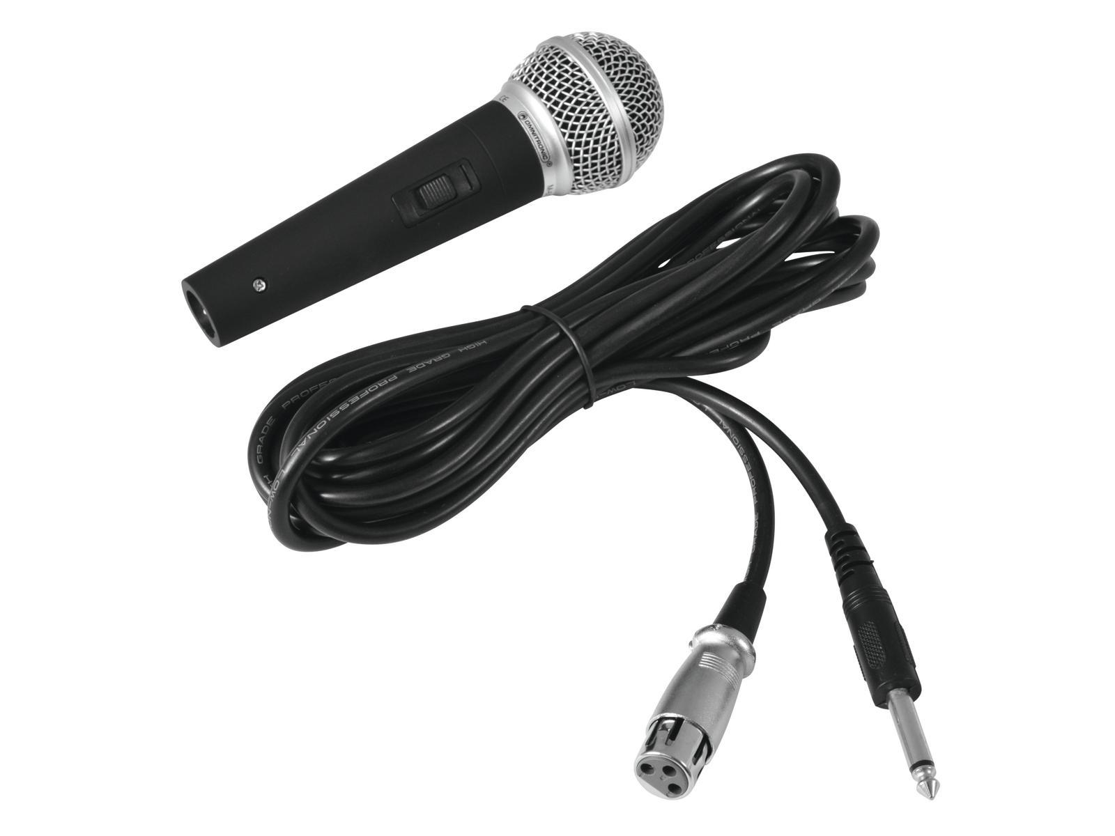 Fotografie Omnitronic M-60, dynamický mikrofon