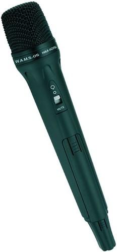 Omnitronic HM-105, bezdrátový ruční mikrofon pro W.A.M.S. - 05