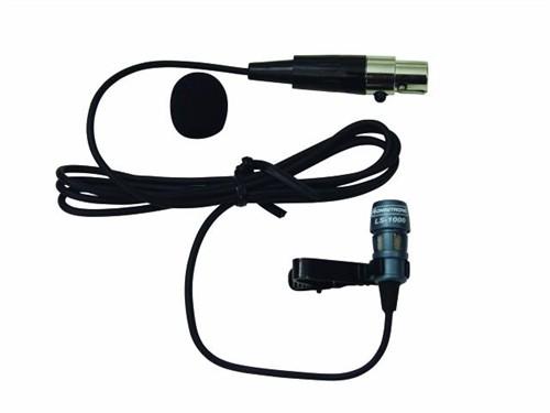Omnitronic LS-1000 XLR, klopový mikrofon mini XLR