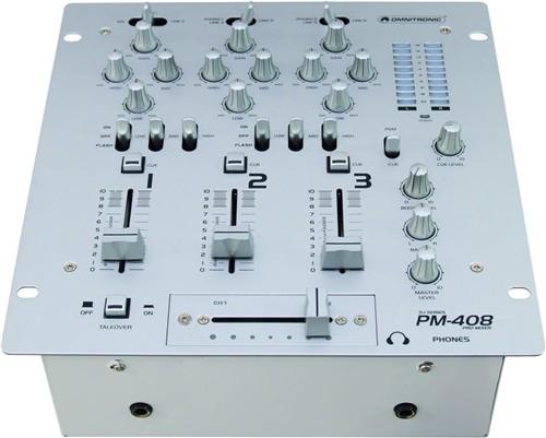 Omnitronic PM-408, 3-kanálový mixážní pult