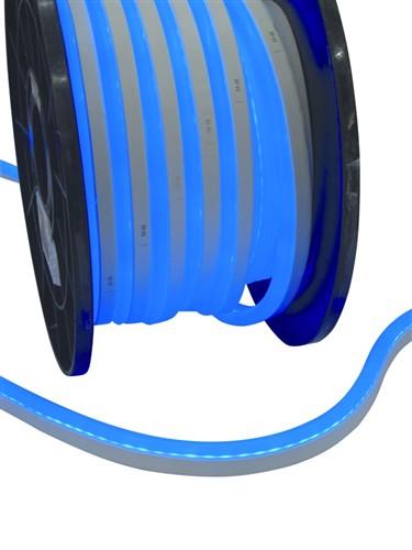 LED Neon Flex 230 V, EC, modrá, 100 cm