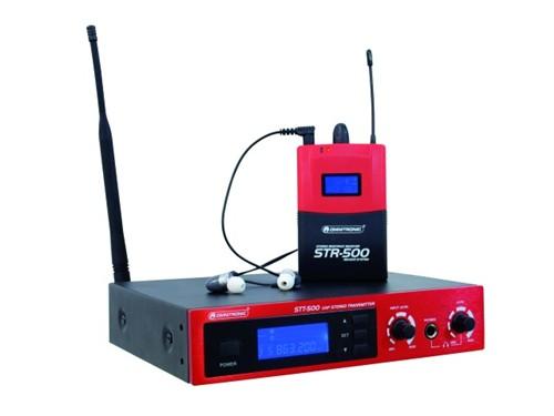 Omnitronic IEM-500, bezdrátový in-Eir odposlech UHF