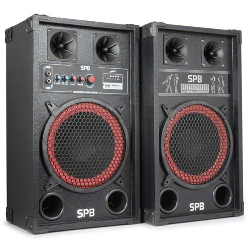 """Skytec SPB-10 PA Aktivní zvukový systém 10"""", USB, SD, MP3, 2x 300W"""