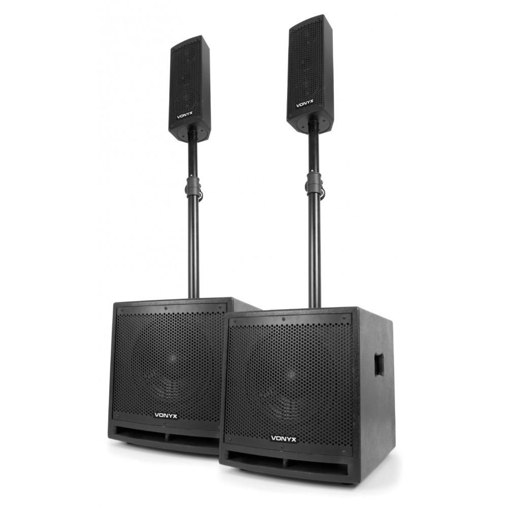 Vonyx Clubber Set 1000W, MP3, Bluetooth, mikrofon