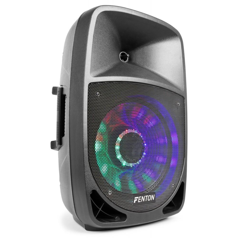 """Aktivní 12"""" reprobox Fenton FT-12A LED BT/MP3/SD/USB, 250W"""