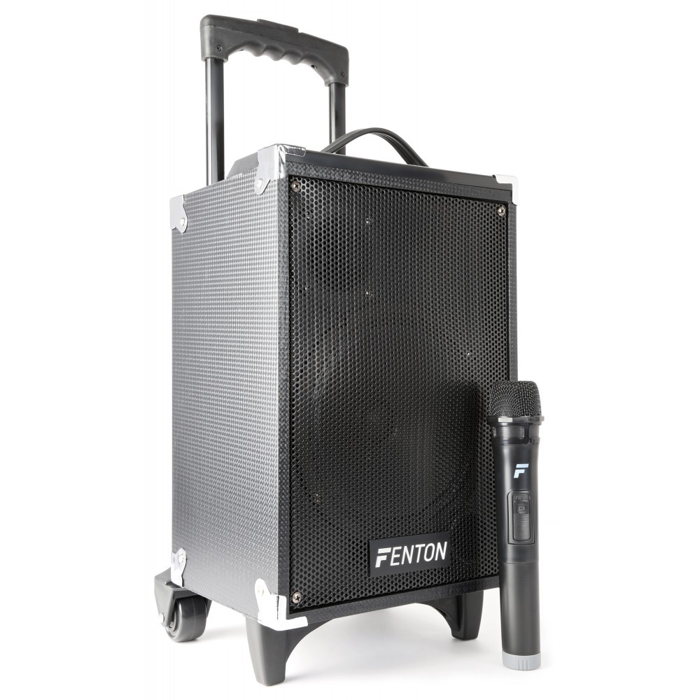 Fenton MOB-8 BT/MP3/USB/SD/VHF mikrofon, řečnický systém 130W
