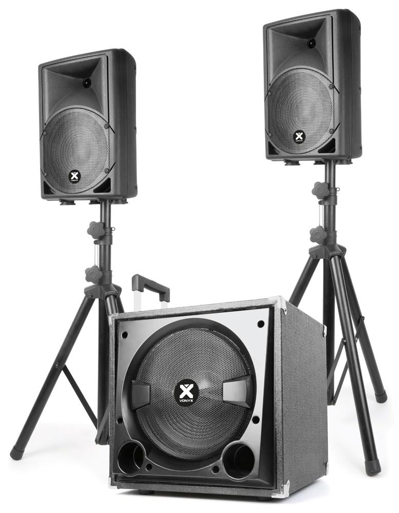 Aktivní zvukový systém Vonyx Mini Beat Set 400W, MP3, Bluetooth